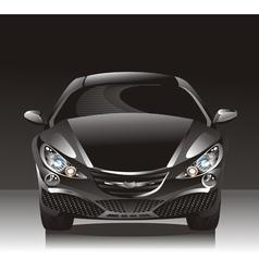 Concept car - sedan vector