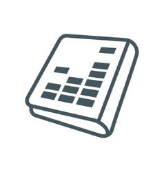 Audiobook sign vector