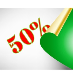 Discount coupons vector