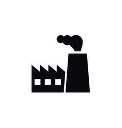 Isolated architecture icon industry vector