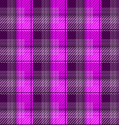Magenta tartan plaid backgroun vector image