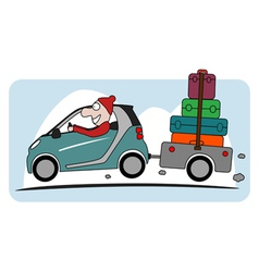 Holiday icon vector