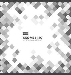 abstract diagonal line art geometric square gray vector image vector image