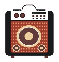concert speakers icon vector image