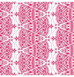 Lace seamless ornament vector