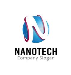 Nanotech design vector