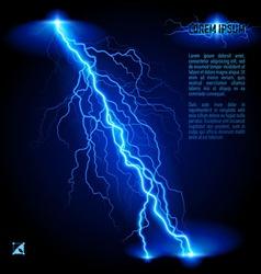 Oblique lightning line vector