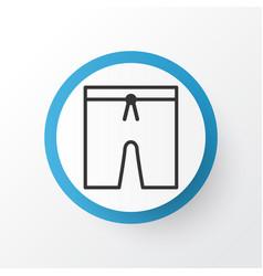 Swim suit icon symbol premium quality isolated vector