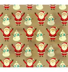 Christmas decoration seamless pattern vector