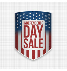 Independence day sale usa national banner vector
