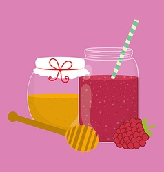 Smoothie design vector