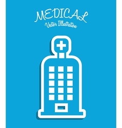medical icon vector image vector image