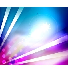 Colorful shiny abstract template vector image