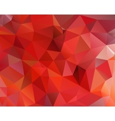 Abstract polygonal triangular background vector