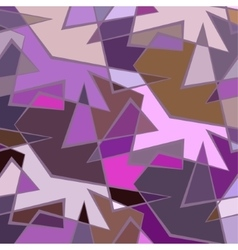 Abstract colorful background of broken vector image vector image