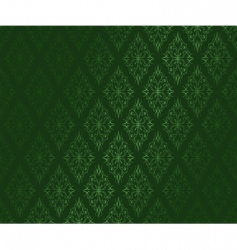 dark green ornamental vector w vector image vector image