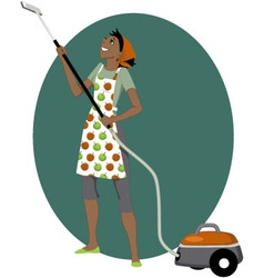 Vacuum cleaning vector