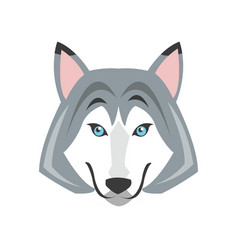 Wolfe animal icon vector