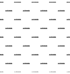Audio equalizer pattern simple style vector image