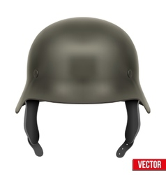 German army helmet vector