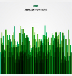 abstract image green straight lines of nature vector image vector image