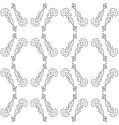 decorative pattern for textile design vector image