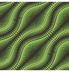 Ornate geometric plants vector