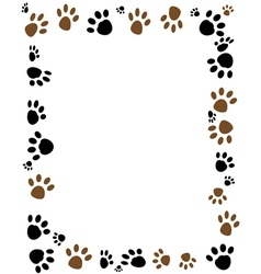 Paw vector