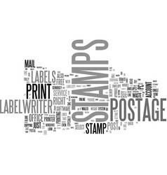 Why line up at the post office to buy postage vector