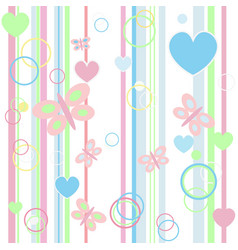 Baby blue seamless background vector image