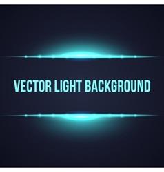 Horizontal bright frame light background vector image