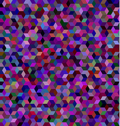 Dark 3d cube mosaic background design vector