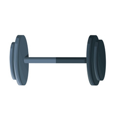 Dumbbell weight workout hard gym vector