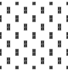 House door pattern simple style vector