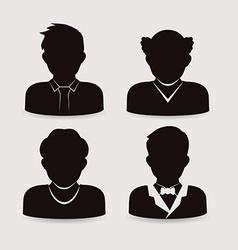 men icon design vector image