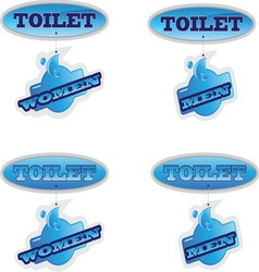 TOILET NEW 3 vector image