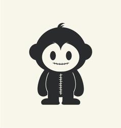 Monkeystein 1 vector image