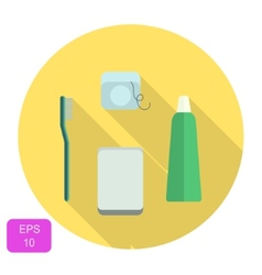 Oral care icon vector