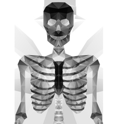 Abstract polygonal skeleton vector