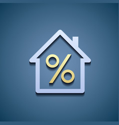 Interest on the mortgage vector