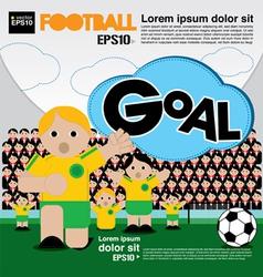 Football conceptual EPS10 vector image