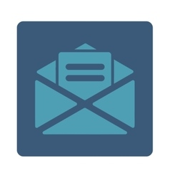 Open mail icon vector image vector image