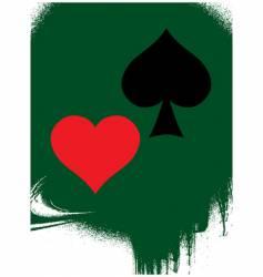 game card symbols vector image