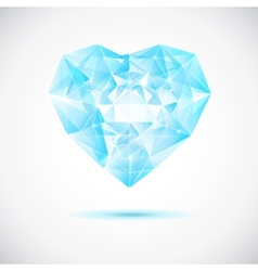 Beautiful crystal vector image