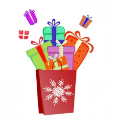 Surprise gift vector