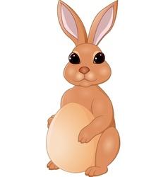 Easter Rabbit cartoon vector image