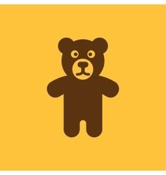 Bear icon design Toy Bear symbol web graphic vector image vector image