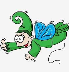 Flying elf vector