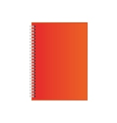 Note paper object vector