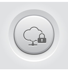 Secure Connection Icon vector image vector image